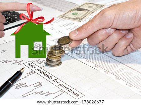 Financial banking Business.Concept - stock photo