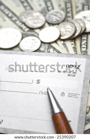 Financial concept - stock photo
