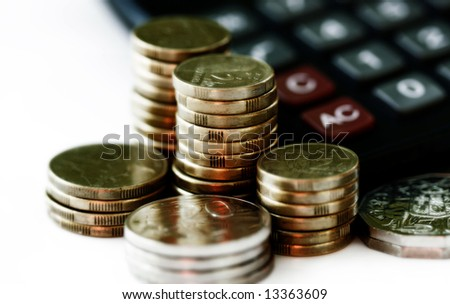 financial growth and savings - stock photo