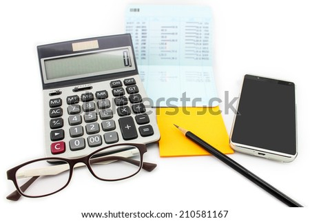 Financial transactions online. - stock photo