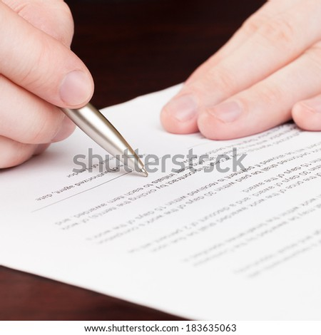 Financial world with business people and everything related to it - 1 to 1 ratio - stock photo