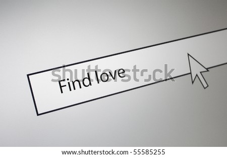 Find love - stock photo