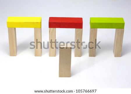 Find to right way business concept metaphor - stock photo