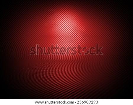 fine carbon fiber background image - stock photo