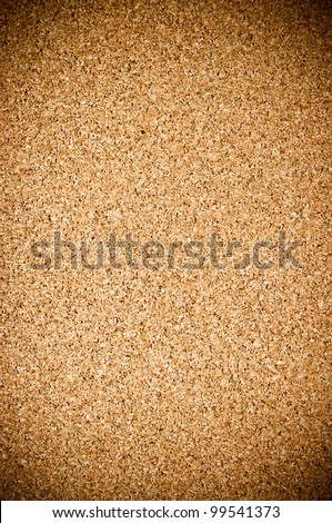 Fine cork texture with gradient for background usage - stock photo