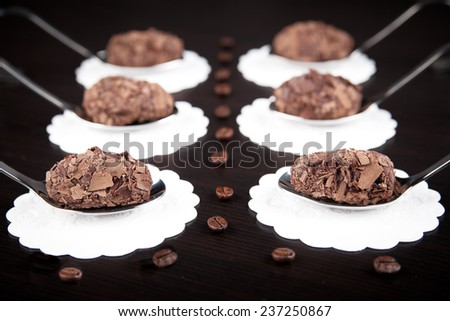 Finest chocolate Confectionery - stock photo