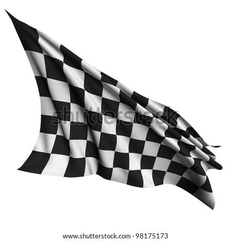 Finish flag - World flags - stock photo