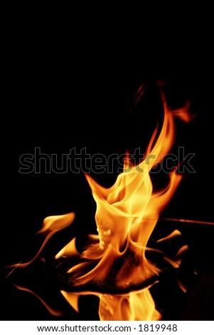 Fire - stock photo