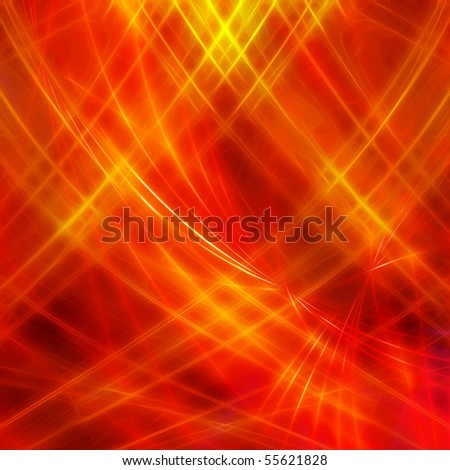 Fire design background - stock photo