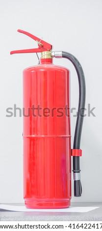 Fire extinguisher. - stock photo