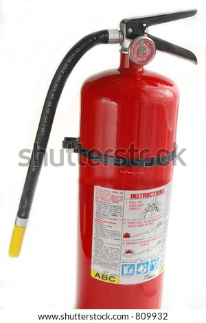 Fire extinguisher - stock photo