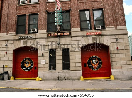 Fire House - stock photo