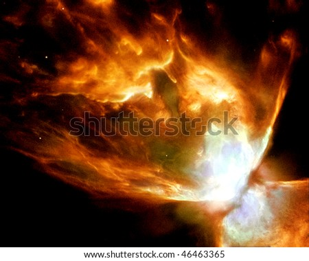 Fire Nebula - stock photo