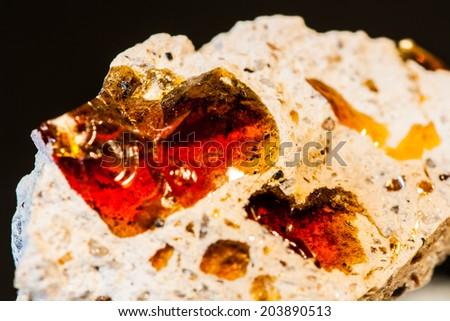 Fire Opal - stock photo