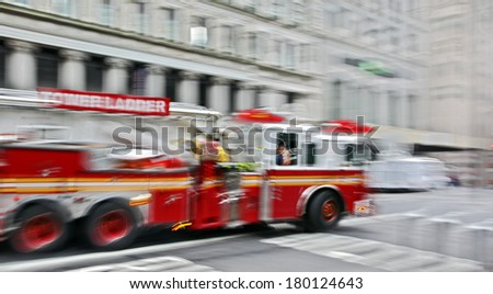 fire suppression and mine victim assistance - stock photo