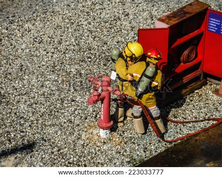 Firemans - stock photo