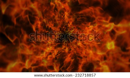 Fires Background - stock photo