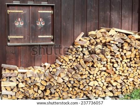 Firewood - stock photo