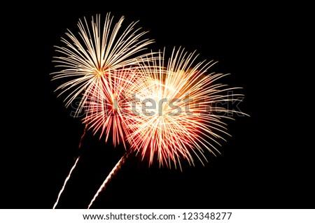 Fireworks 6 - stock photo