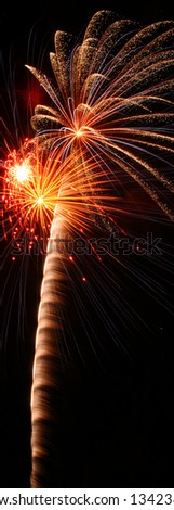 Fireworks - stock photo