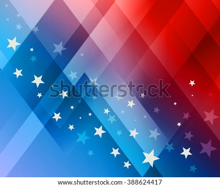 Fireworks background for 4th of July Independense Day - stock photo