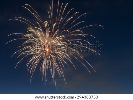 Fireworks celebrations - stock photo