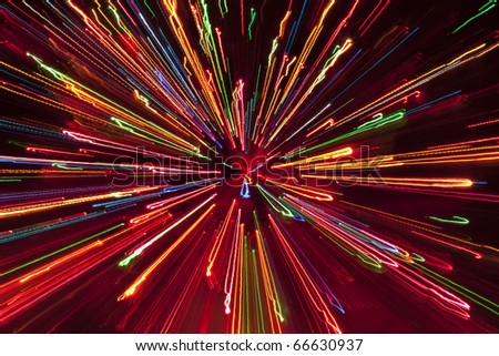 fireworks,colored splashes of light against a dark background - stock photo