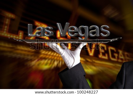 First Class Service in Las Vegas - stock photo