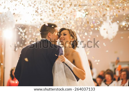 first dance bride - stock photo