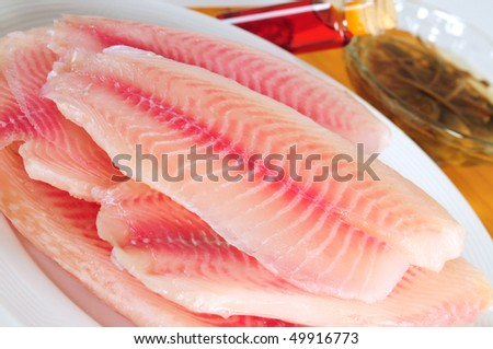 Fish fillet. - stock photo