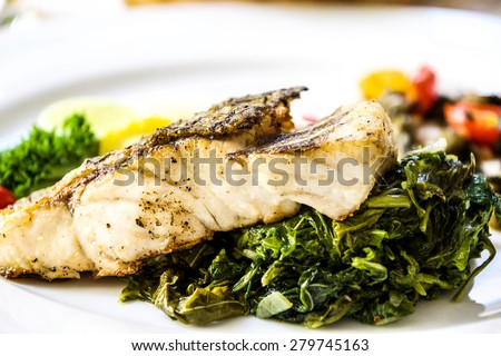 French food stock photos images pictures shutterstock for Fish 101 menu
