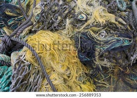 Fishing ships - stock photo