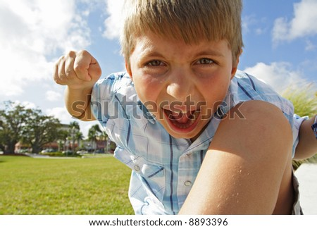 Fist Fighter - stock photo