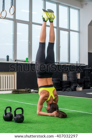 headstand stock photos images  pictures  shutterstock