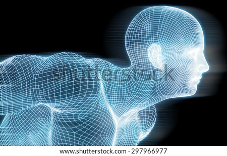 Fitness Technology Science Lifestyle as a Concept - stock photo