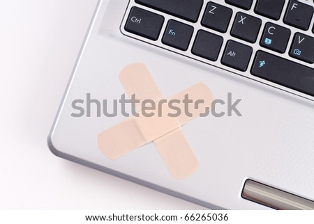 Fixing Computer Problems - stock photo