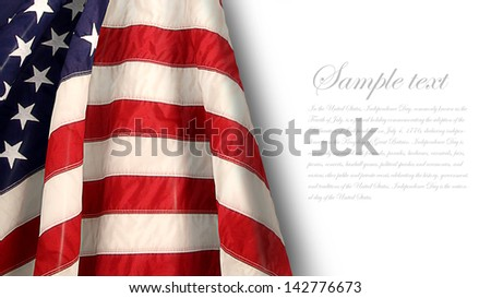 flag - stock photo