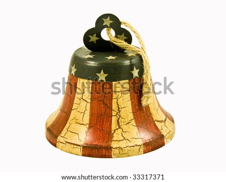 Flag Bell - stock photo
