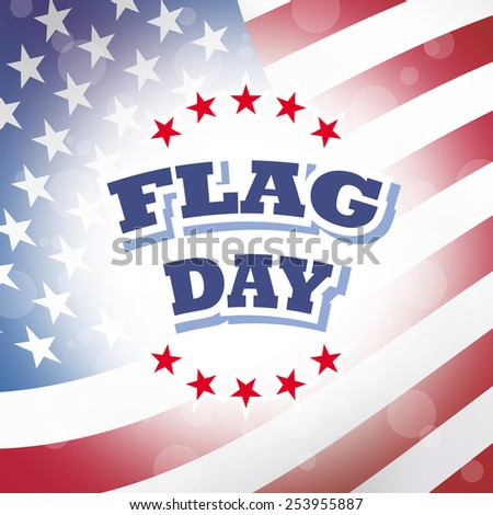 flag day america banner abstract american flag background illustration - stock photo