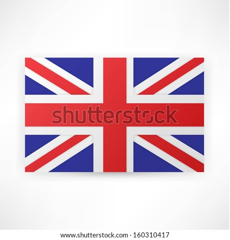 flag london background. - stock photo