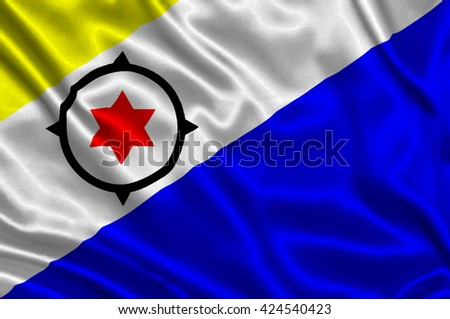 Flag of Bonaire - stock photo