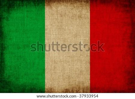 Flag of Italy - stock photo