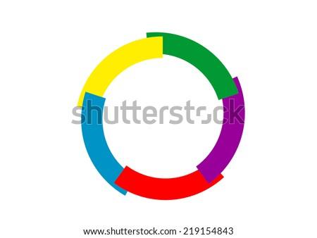 Flag of La Francophonie symbol french language speakers emblem - stock photo