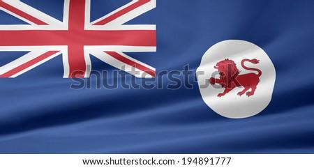 Flag of Tasmania - Australia - stock photo