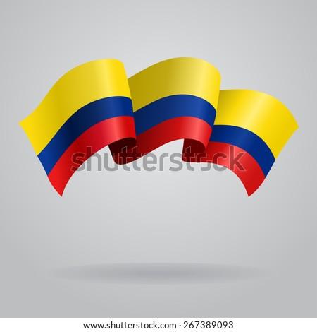 Flag. Raster version - stock photo