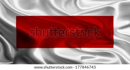 Flags of UAE Emirates : Sharjah and Ras al-Khaimah - stock photo