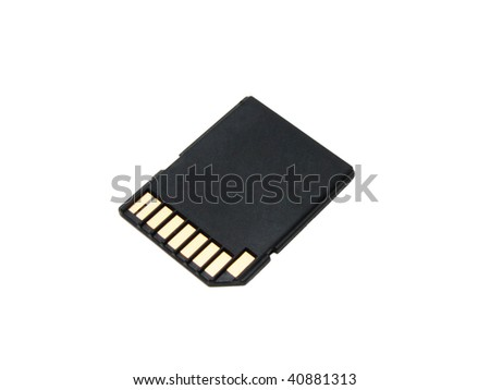 flash card - stock photo