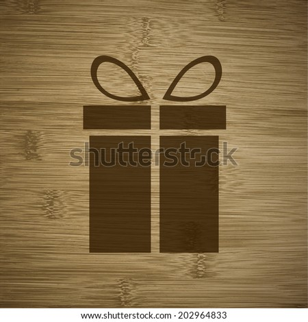 flat design with abstract background. - stock photo