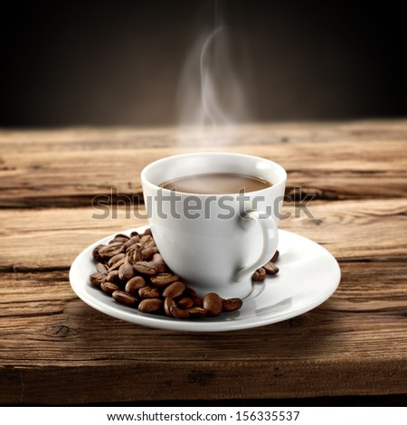 flavor of coffee  - stock photo