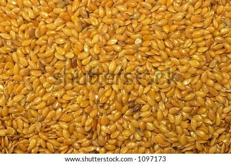 Flax seed full screen - stock photo